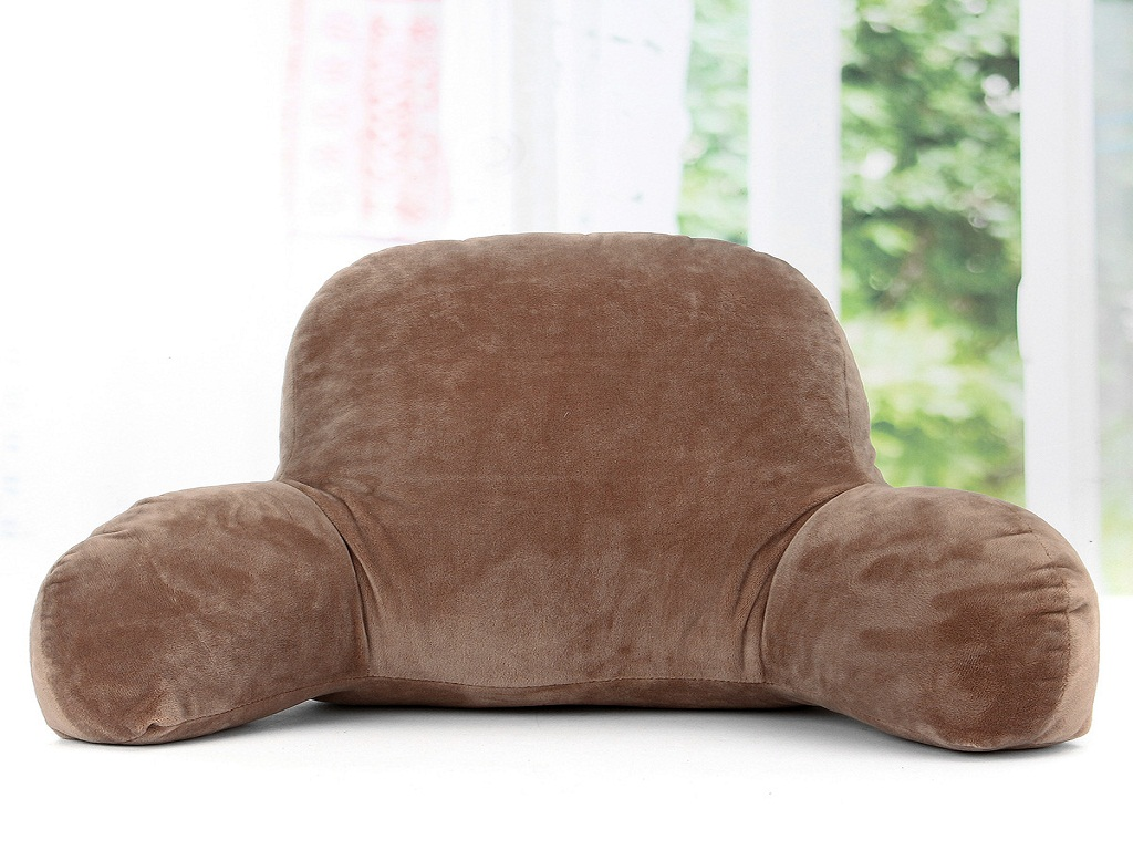 Image of: Bed Rest Pillow With Arms Ideas