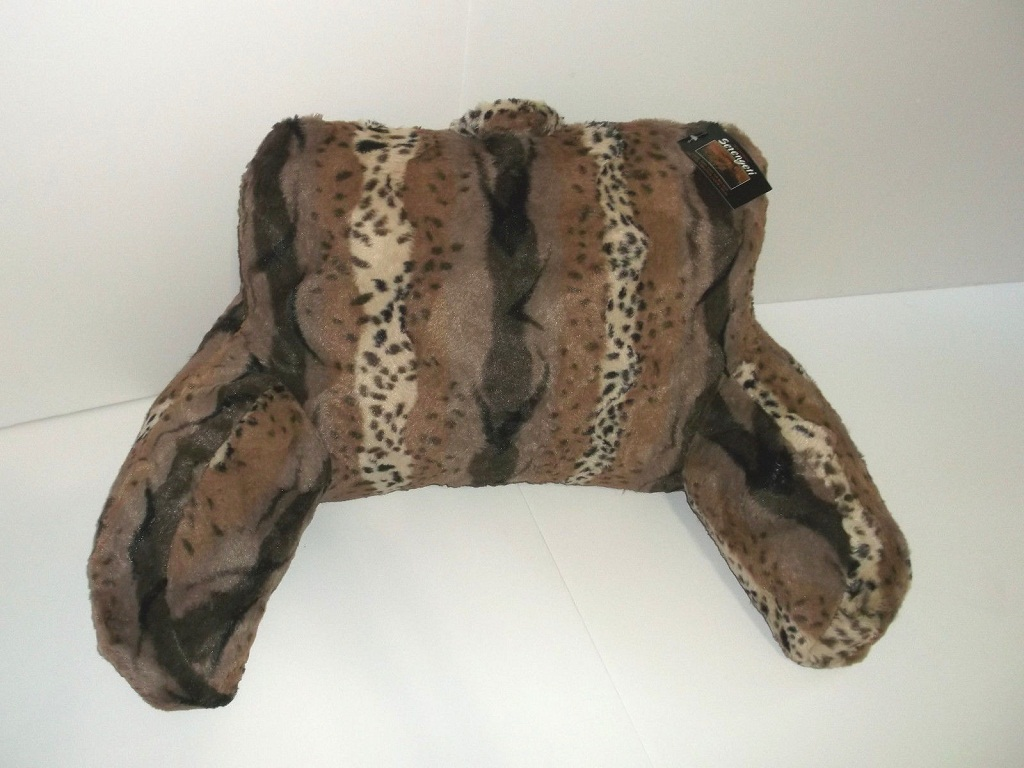 Image of: Bed Rest Pillow With Arms Pattern