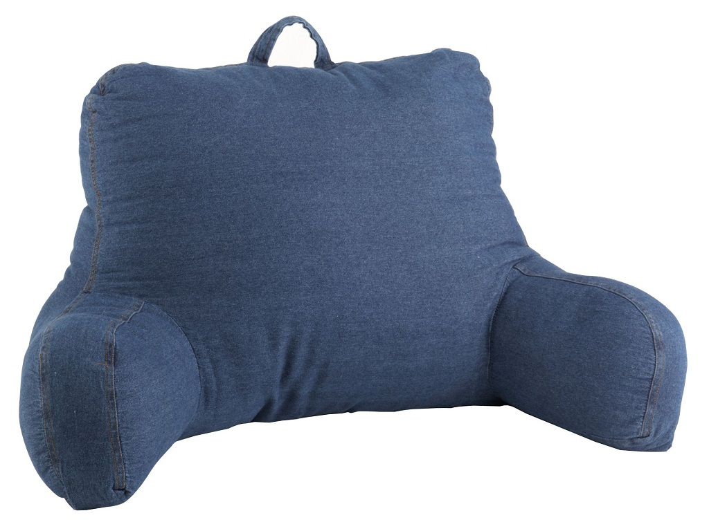 Image of: The Bed Rest Pillow With Arms Walmart