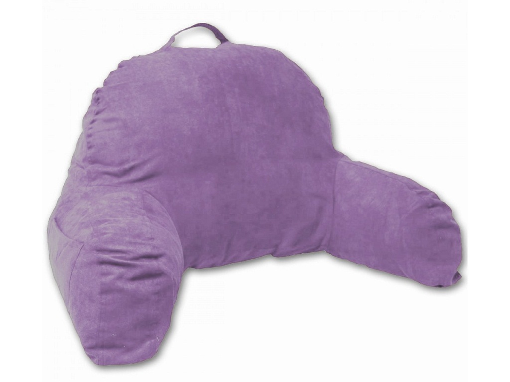 Image of: The Bed Rest Pillow With Arms