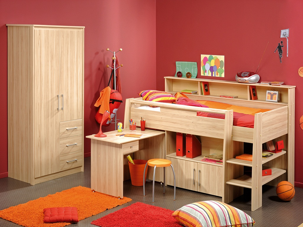 Image of: Bedroom Furniture For Teens Boys