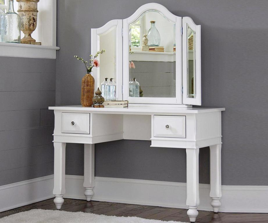 Image of: Bedroom Vanity Table With Drawers
