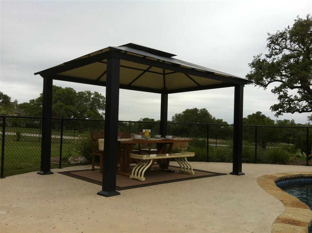 Image of: Best Aluminum Gazebo