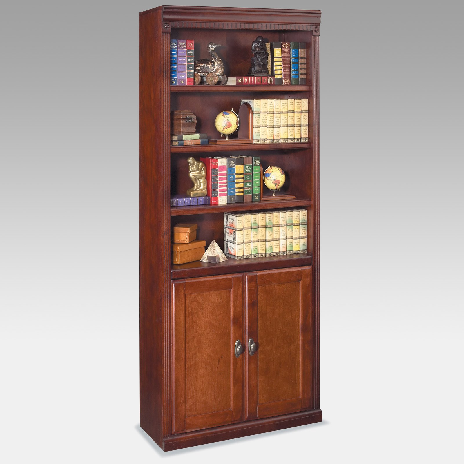 Image of: Best Bookcases with Doors