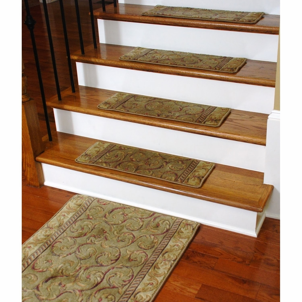Image of: best carpet stair treads