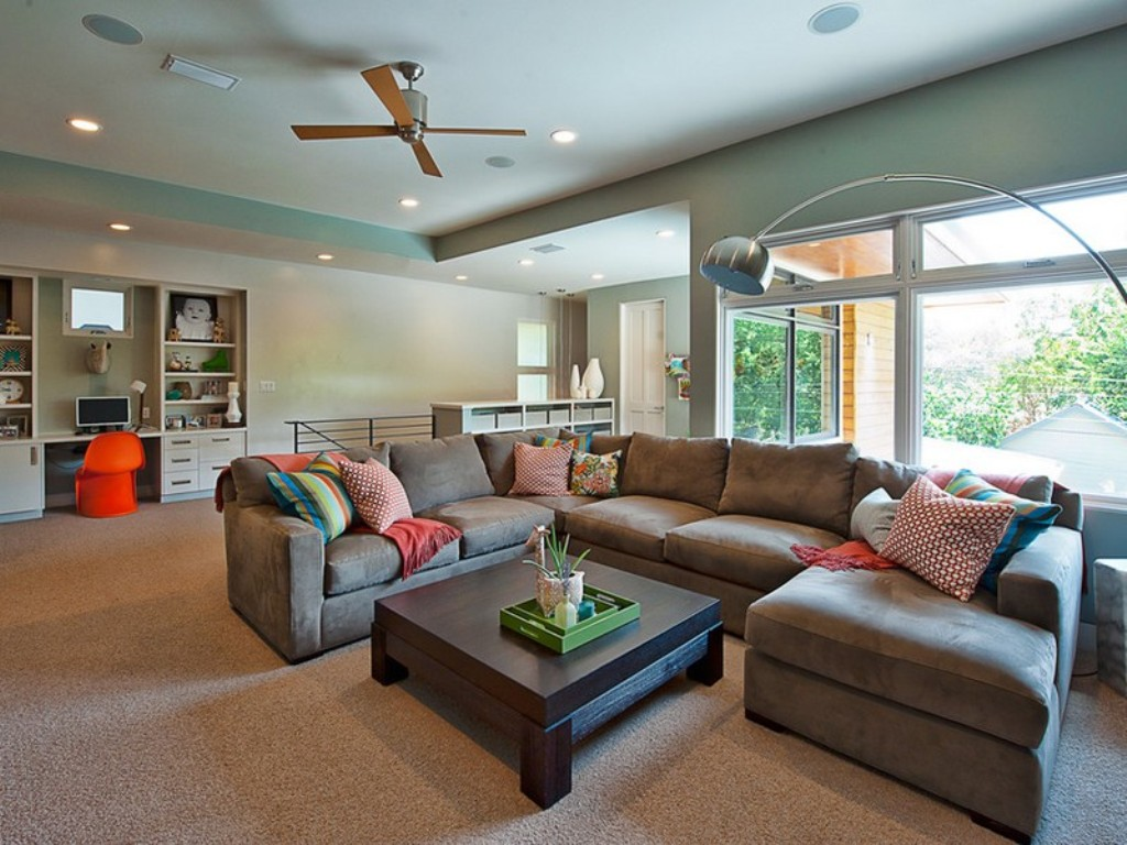 Image of: best deep seated sofa