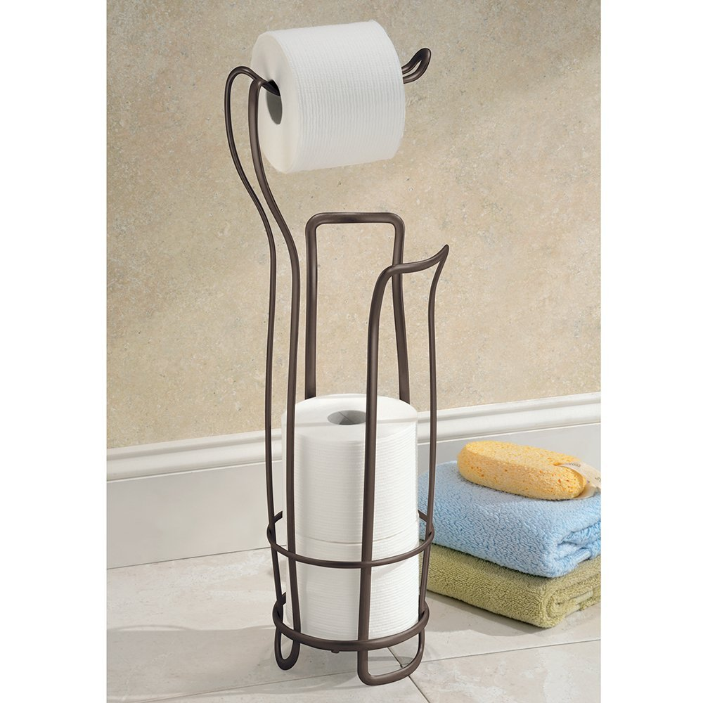 Image of: best free standing toilet paper holder