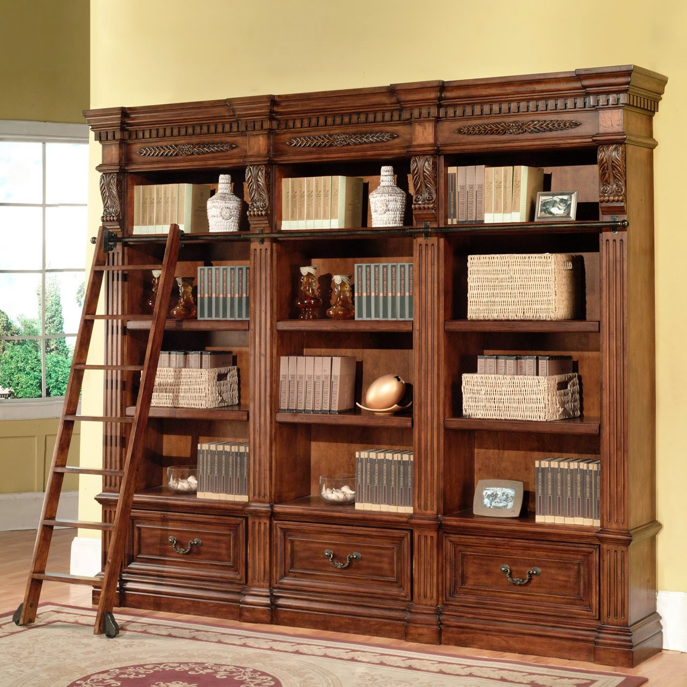 Image of: Best Library Bookcase
