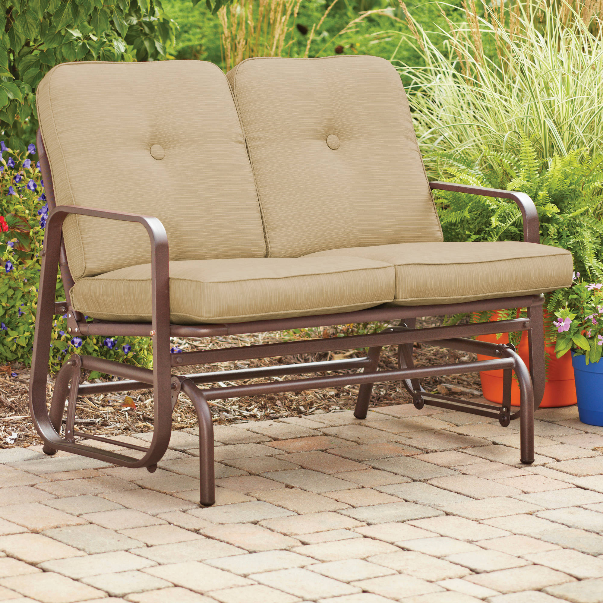 Image of: best outdoor glider chair Style