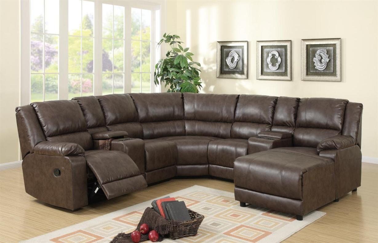 Image of: Best Sectional Sofas With Recliners