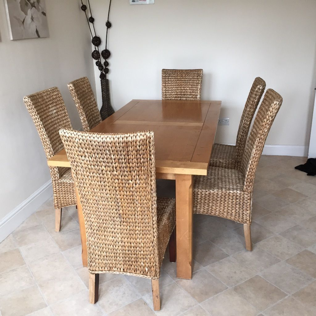 Image of: best wicker dining chairs