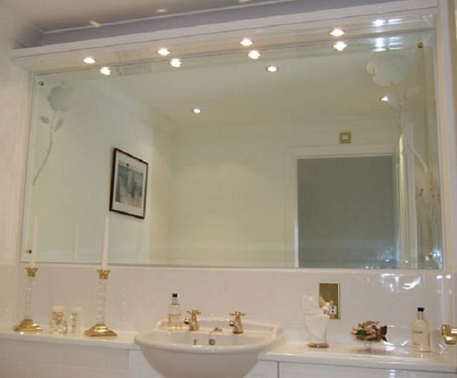 Beveled Bathroom Wall Mirrors