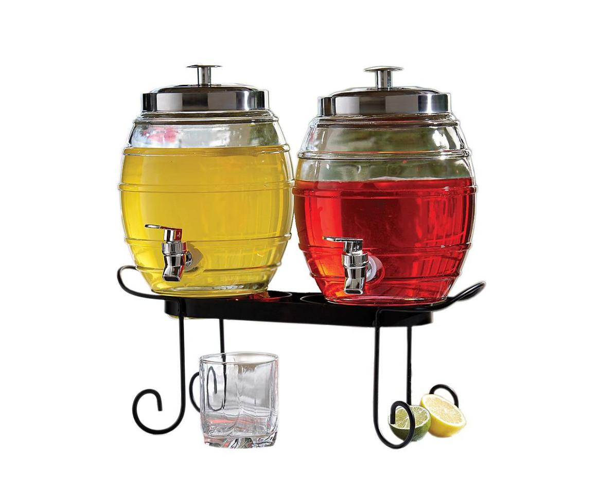 Image of: Beverage Dispenser Stand