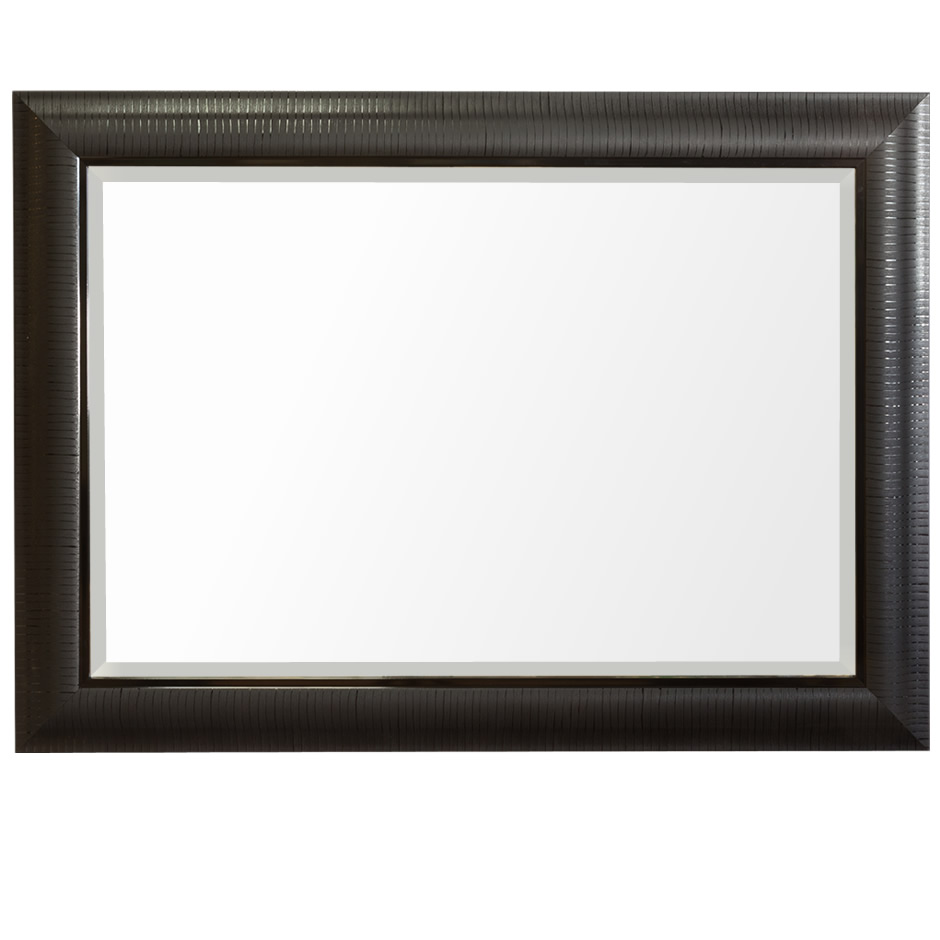 Big Black Framed Mirror