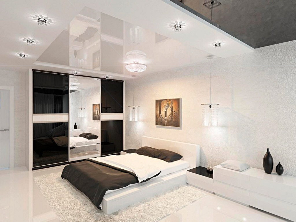 Image of: Black And White Bedroom Ideas For Young Adults