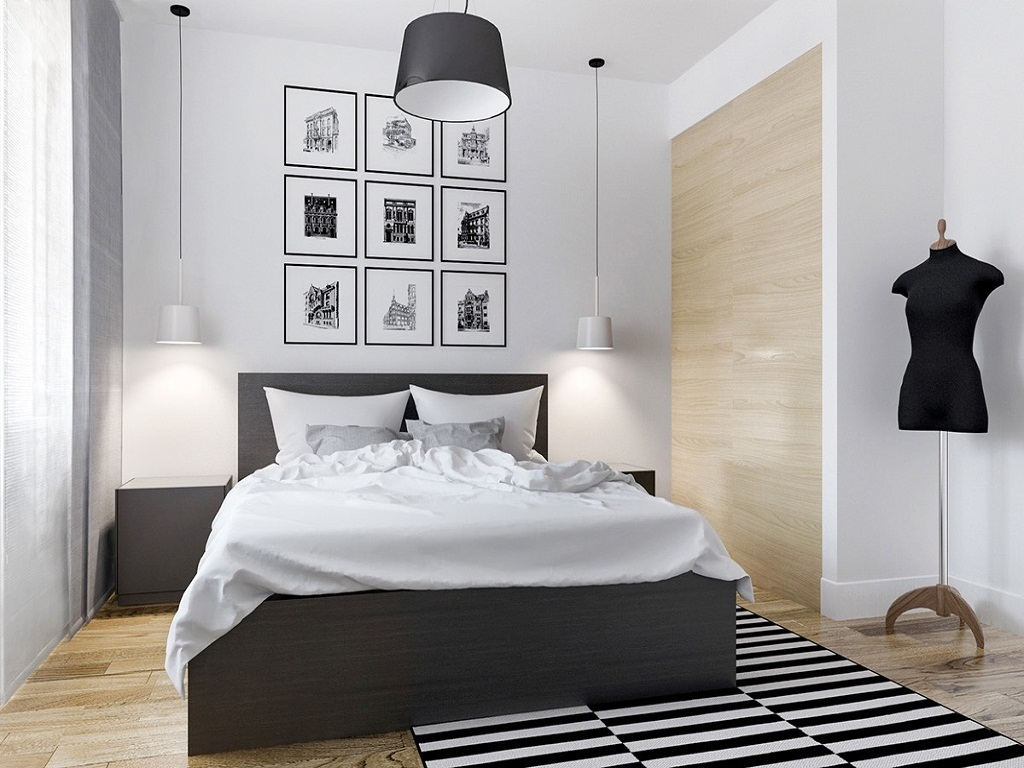 Image of: Black And White Bedroom Ideas Ikea