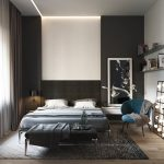 Black And White Bedroom Ideas With Accent Color