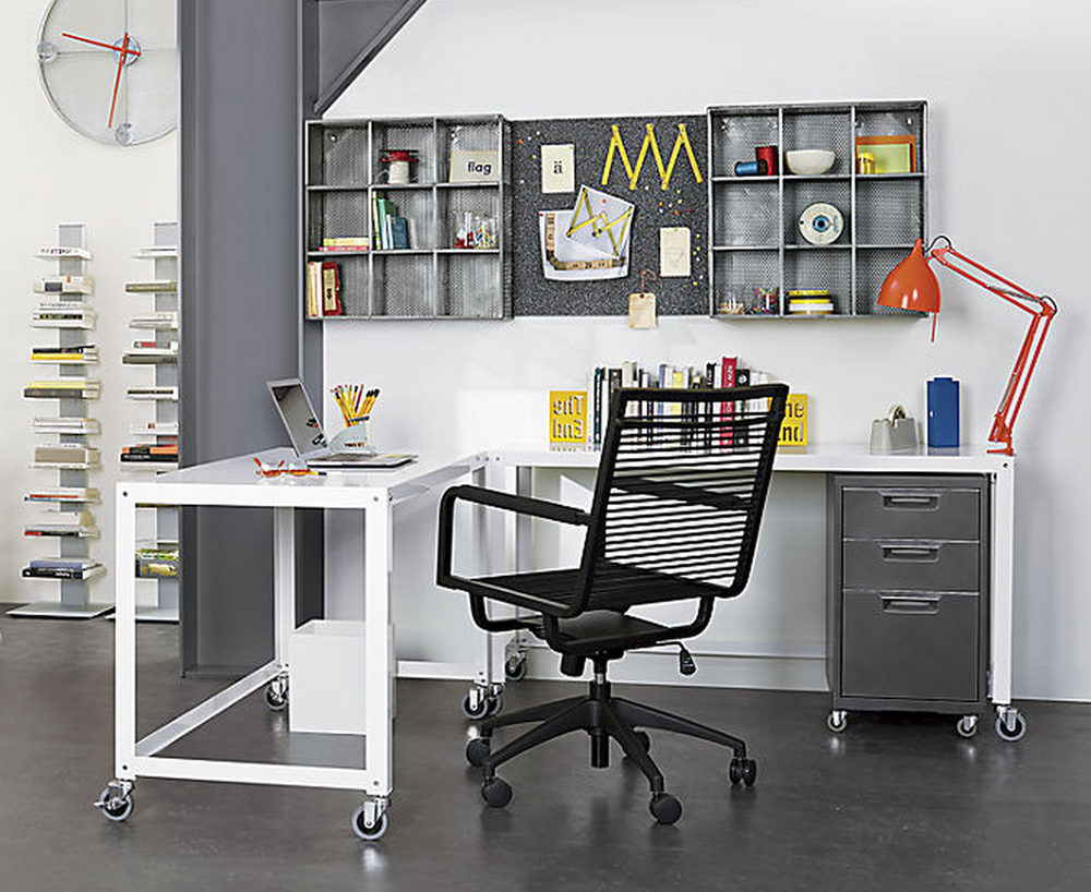 Image of: black bungee office chair
