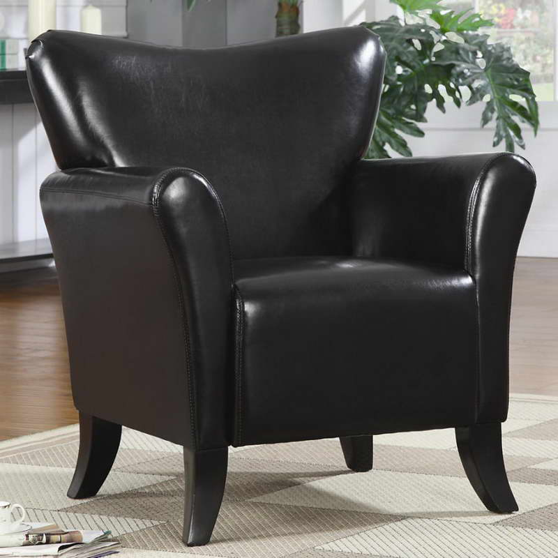 Image of: Black Dorm Room Chairs
