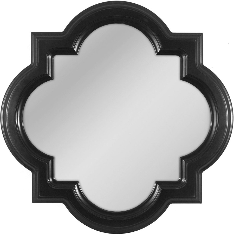 Image of: Black Frame Antique Mirror