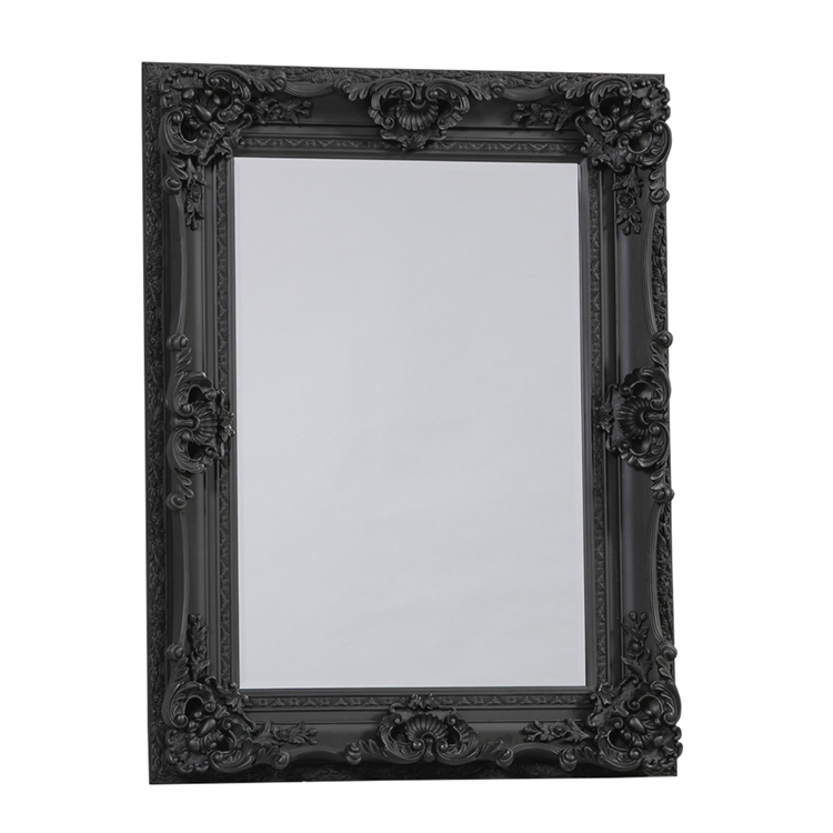 Image of: Black Framed Bedroom Mirror
