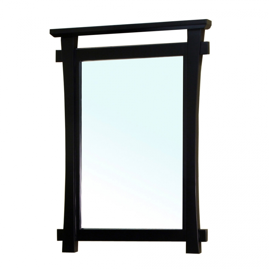 Image of: Black Framed Mirrors for Bathroom