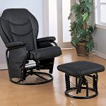 black glider rocking chair