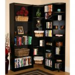 Black L Shaped Bookcase