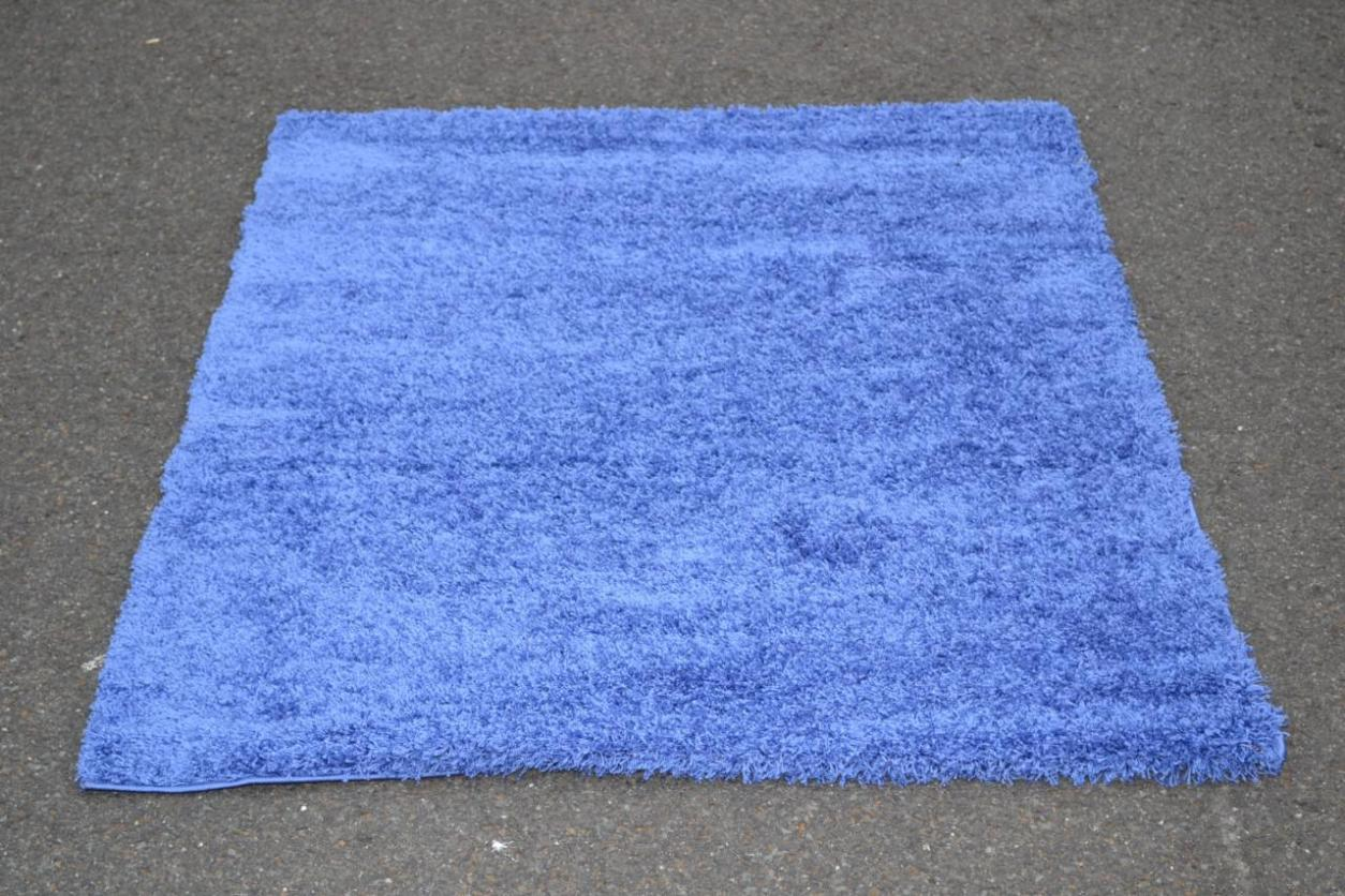 Image of: Blue Area Rugs 5×7