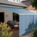 Blue Awning Covers