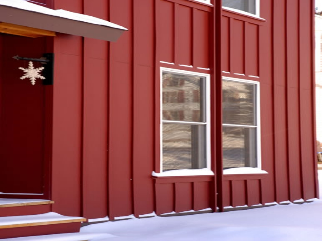 Image of: board and batten siding colors