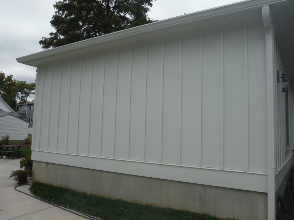Image of: board and batten siding