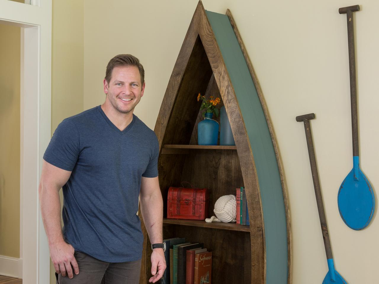 Image of: Boat Bookcase Picture