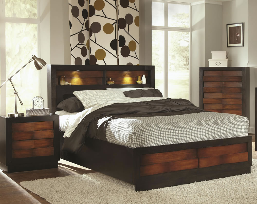 Image of: Bookcase Headboard Queen Images