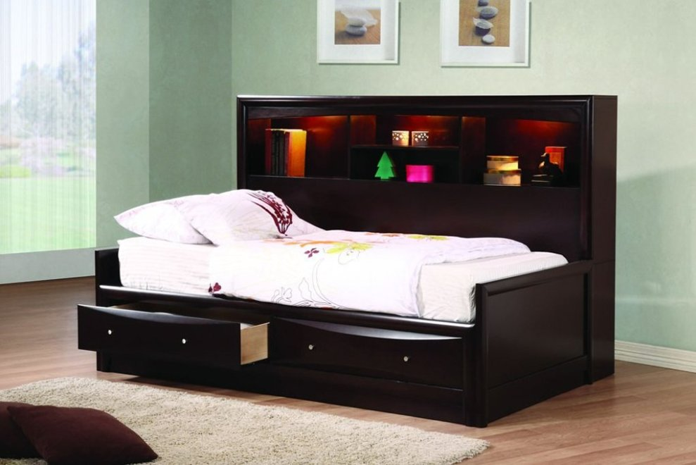 Image of: Bookcase daybed full size