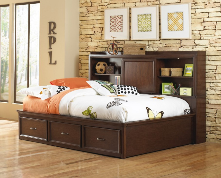 Image of: Bookcase daybed full