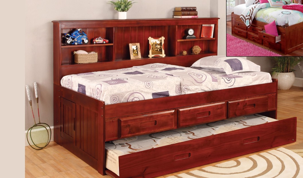Image of: Bookcase Daybed with Storage by Discovery World Furniture