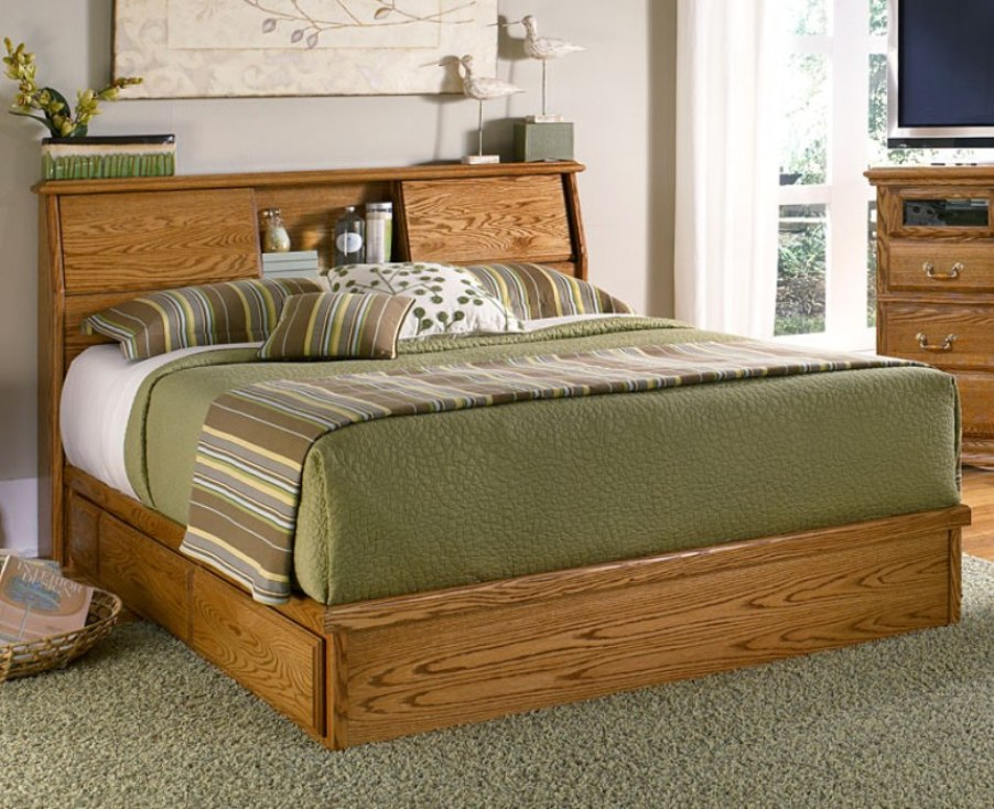 Image of: Best Bookcase Headboard and Frame