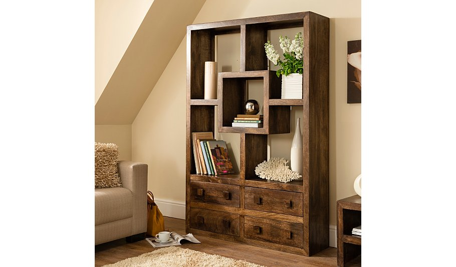 Bookcase with Drawers Style