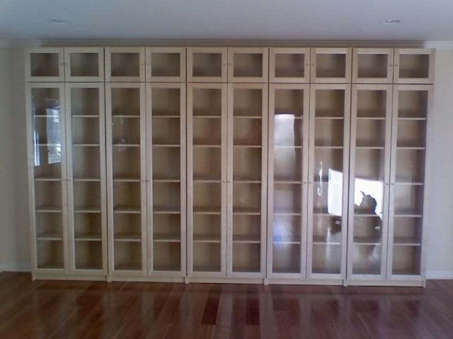 Image of: Bookcase with glass doors Adelaide