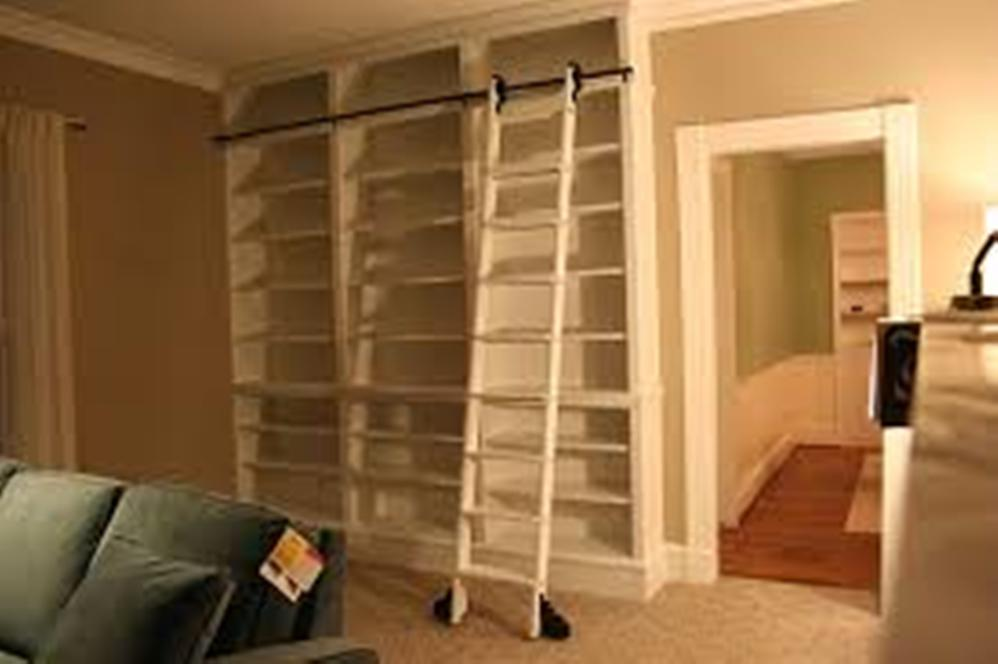 Image of: Bookcase with ladder Adelaide