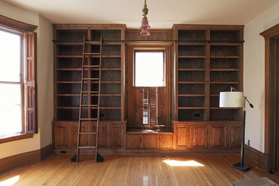 Image of: Bookcase with ladder Melbourne