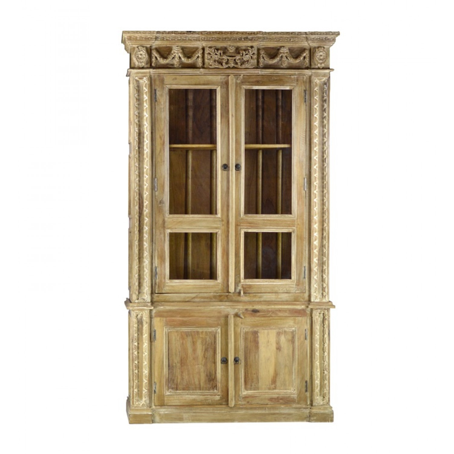 Image of: Bookcases with Doors Style