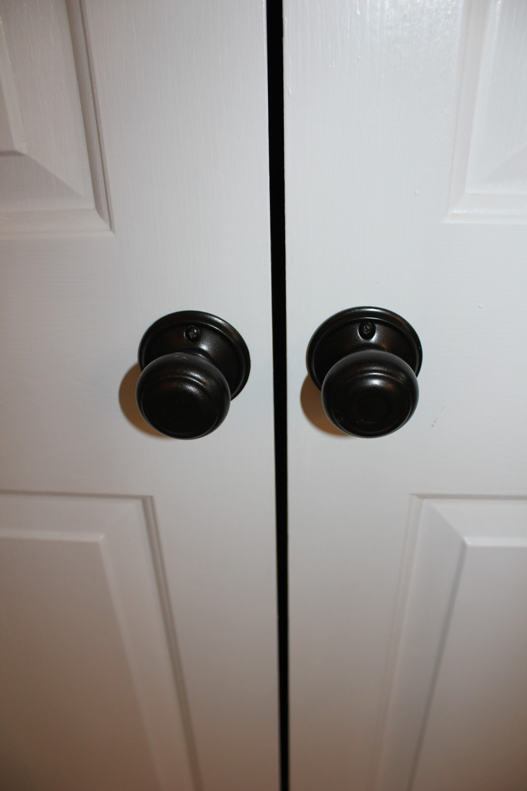 Image of: Bronze Door Knobs Model