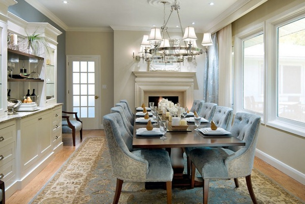 Image of: brookline tufted dining chairs