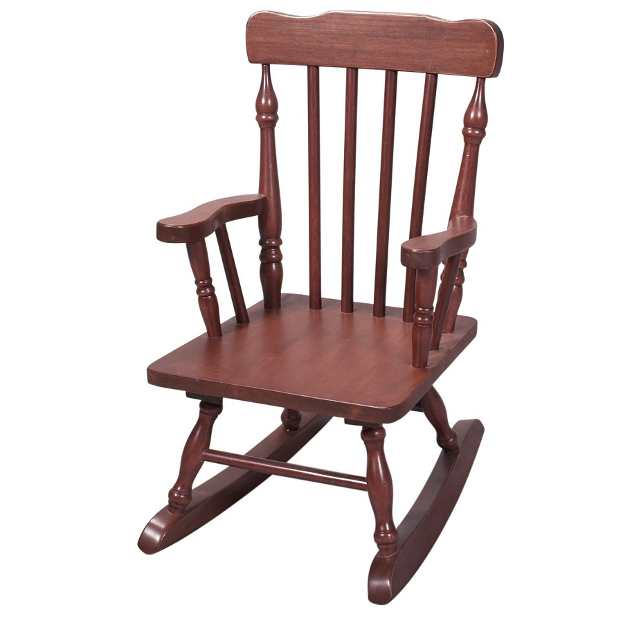 Image of: Brown Childs Rocking Chair