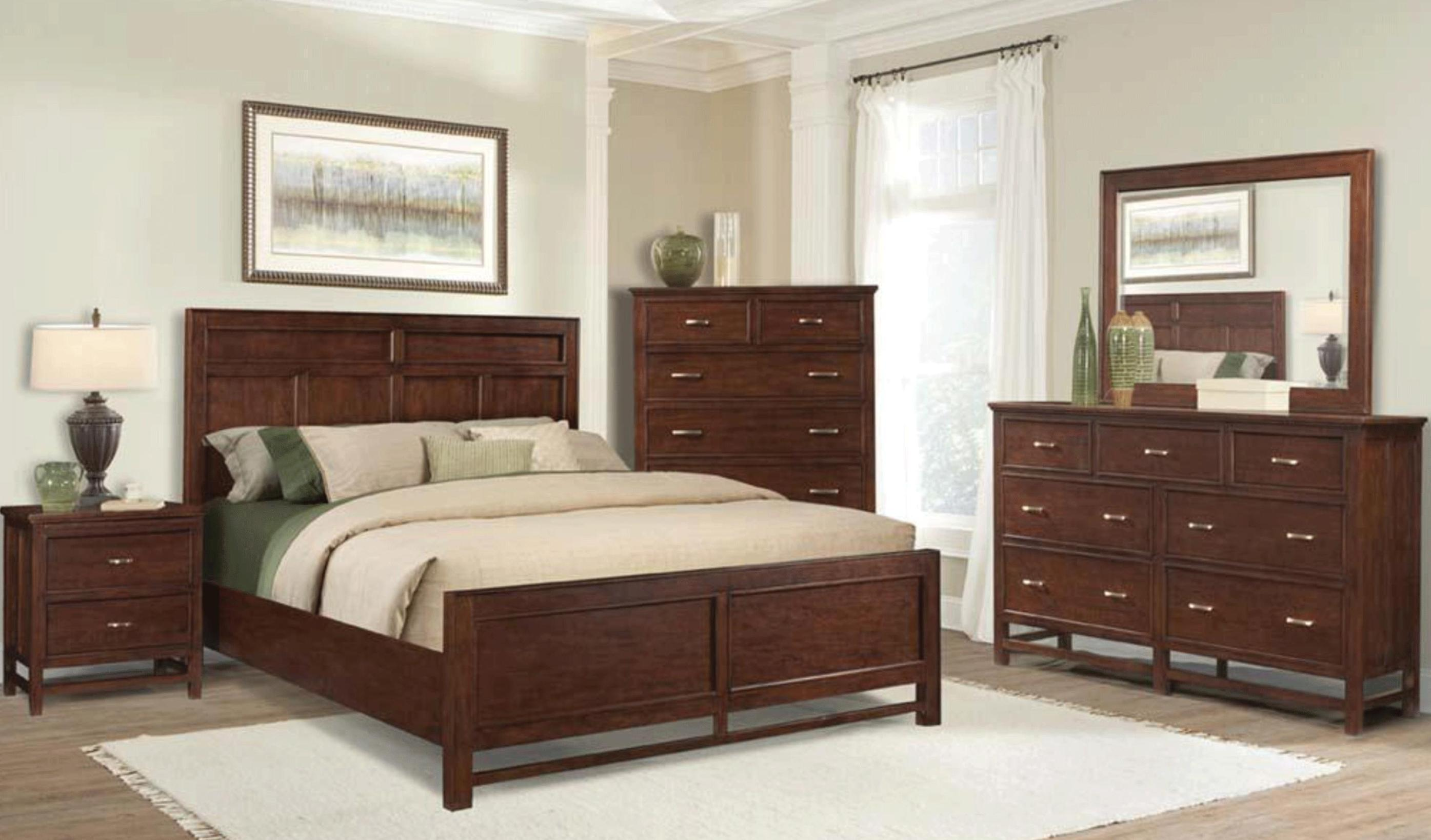 Image of: Broyhill Cherry Nightstand
