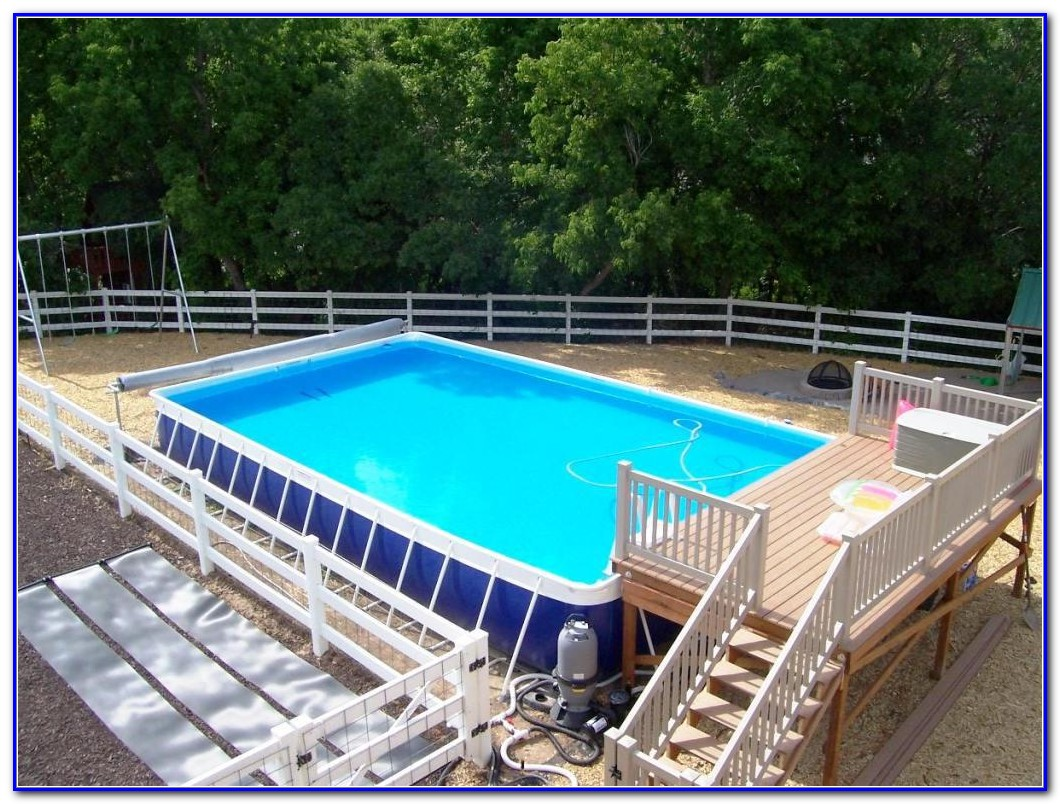 Build Pool Prefab Decks
