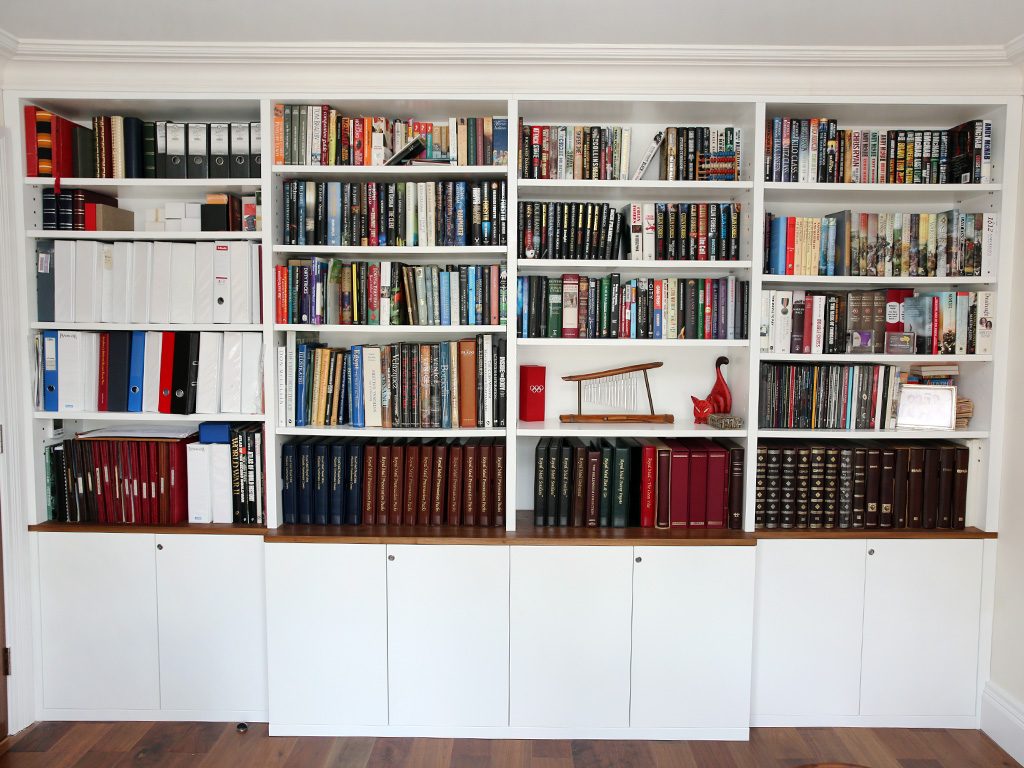 Image of: built in bookshelves ideas