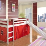 Bunk Bed With A Slide